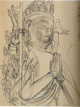 1930唐招提寺千手観音.jpg